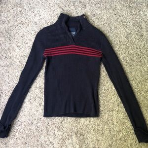 Polo Zip Turtleneck